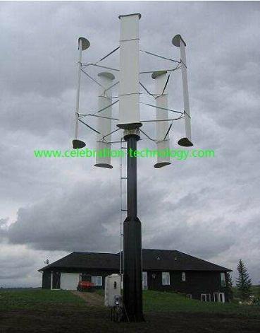 10kW Vertical axis wind turbine 1