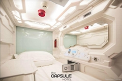 Vertical technical capsule bed