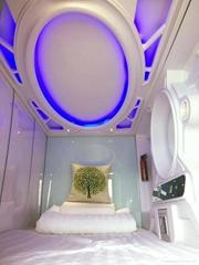 Classic vertical capsule bed