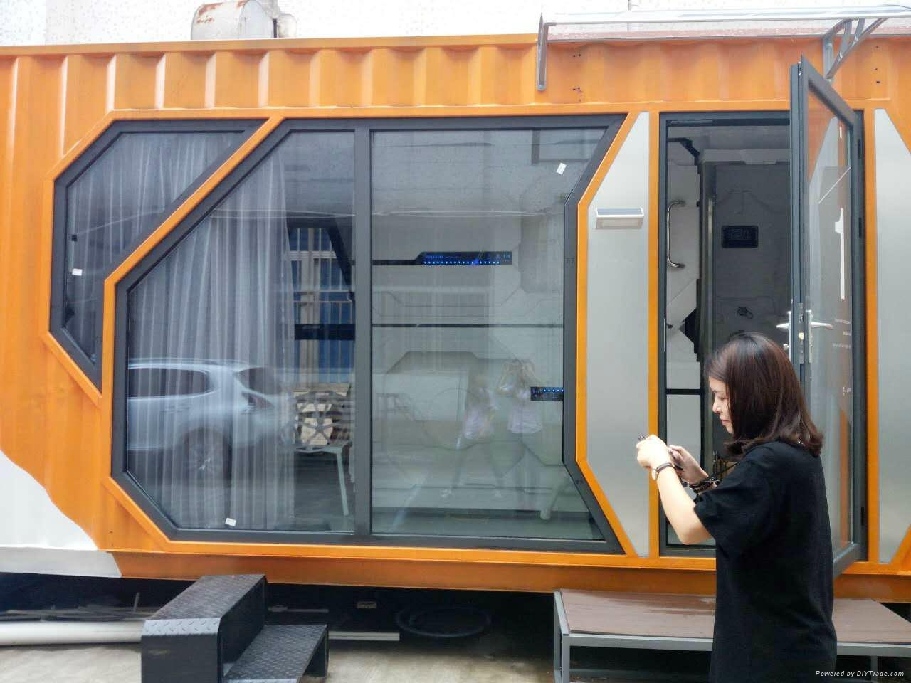 container capsule hotel prefab house 1