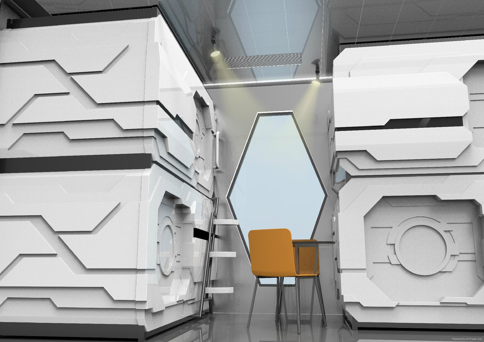 container capsule hotel prefab house 2