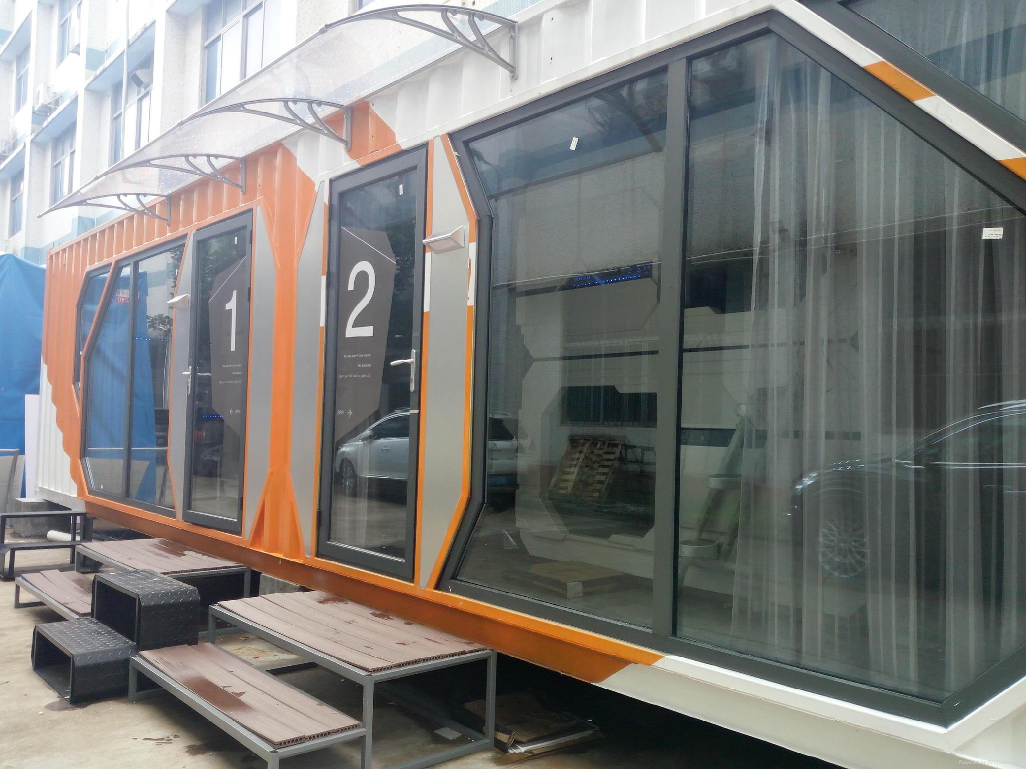 container capsule hotel prefab house 4