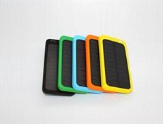 4000mAh Ultra-thin High Temperature Resistant Li-Polymer Solar Mobile Battery Ba