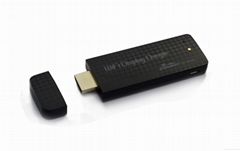 HDMI wifi display dongle android 4.2 window 8 linux for HDTV internet streaming