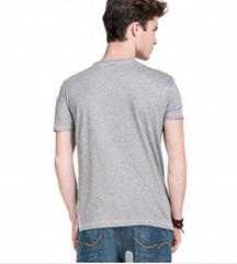 100% cotton men's short sleeve t shirt