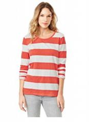 100% cotton women's long sleeve t shirt