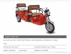 2015 Hot sale 800W three wheel electric bicycle