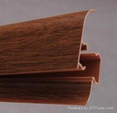 PVC skirting board