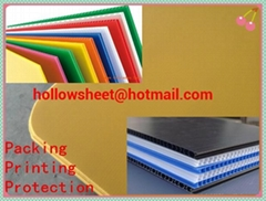 Coroplast Corflute Corrugated plastic layer pad for bottle and glass