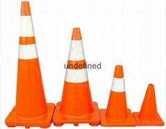 70cm PVC traffic cone