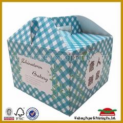 OEM kraft paper cake box