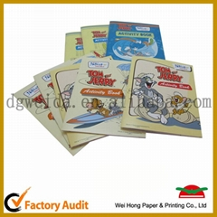 Child book printing students book printing service in China