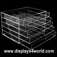 Acrylic Cosmetics Makeup Drawer Box
