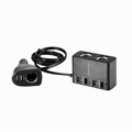 9.1A/45.5W USB Car Charger with 6 USB and 3 sockets car splitter adapter  4