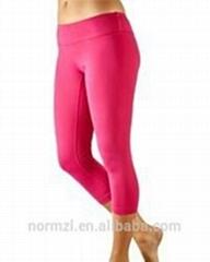 2015 custom new design women sexy yoga pants
