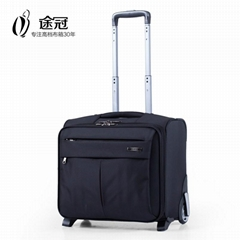 Business Laptop Trolley Bag with Wheel Trolley Case Black 16''