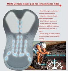 Triathlon pad for cycling wear shorts