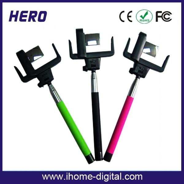 bluetooth selfie monopod with mirror