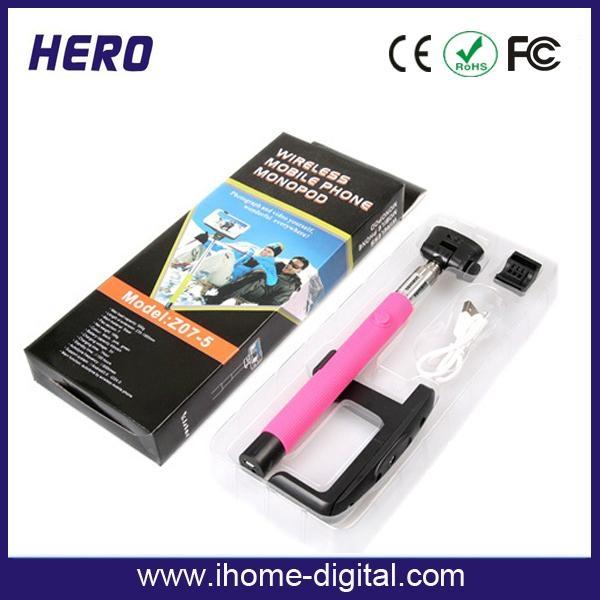 Bluetooth Selfie Stick monopod packaging