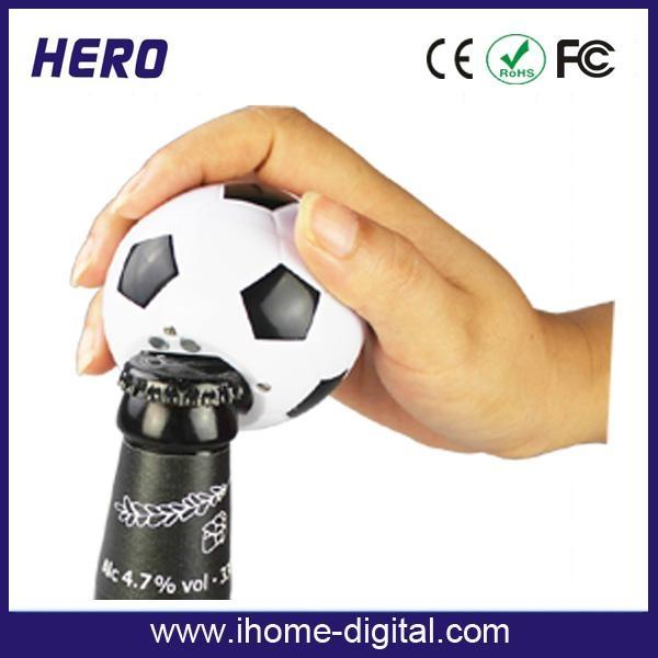 voice football shape bottle opener