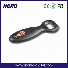 Newest popular trendy promotion item musical bottle opener
