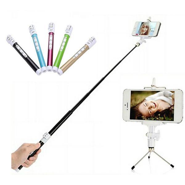 Telescopic tripod selfie monopod selfie stick
