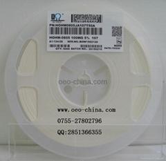 现货0805-100兆欧精密高阻值电阻优势现货