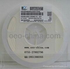 供应200兆欧高阻值0805系列贴片电阻