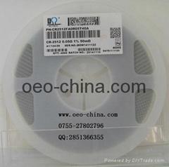 供应0.05R低阻值电阻2512体积原装现货