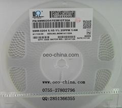 0204精密晶圆电阻5.1欧姆原装原厂现货