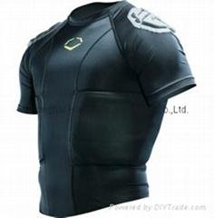 EvoShield Men's HybridPro Rib Football Shirt