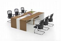 現代簡約會議桌
