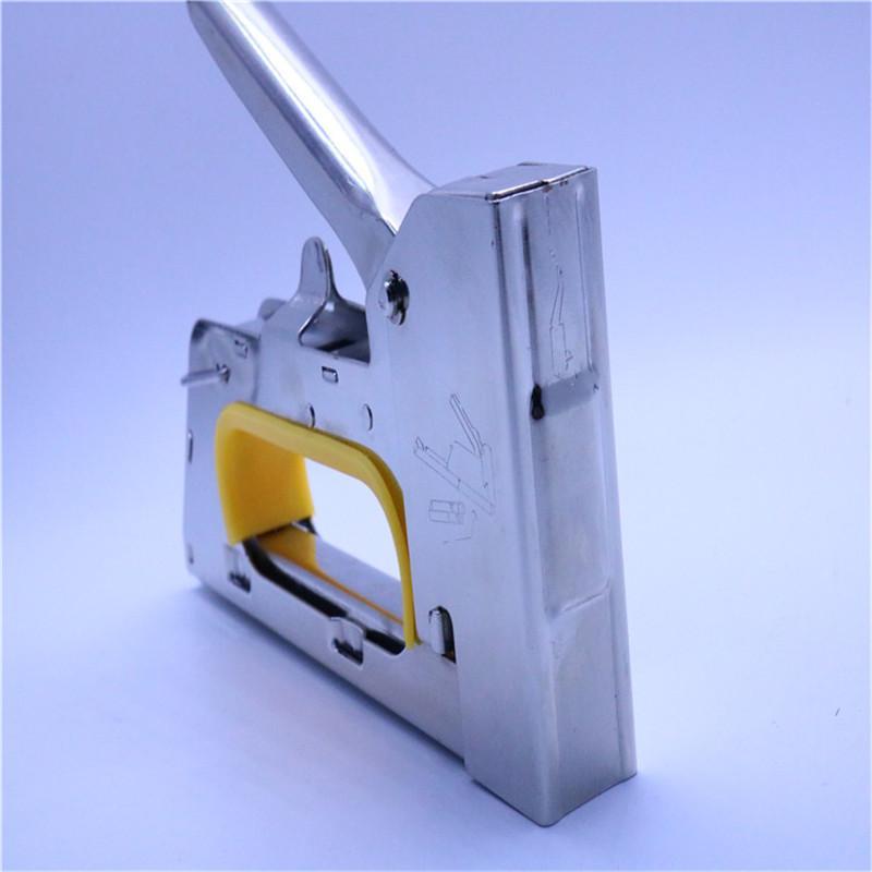 智博電鍍加厚小手柄射釘  動工具打釘槍 1