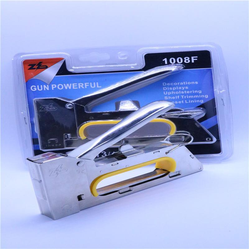 智博電鍍加厚小手柄射釘  動工具打釘槍 4