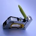 智博電鍍加厚小手柄護手射釘  動工具打釘槍hus 3