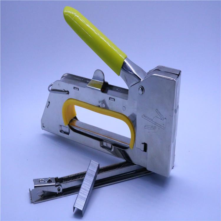 智博電鍍加厚小手柄護手射釘  動工具打釘槍hus 4