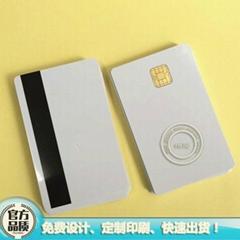 J2A040芯片磁条复合卡CPU卡JAVA卡兼容JCOP21-36K