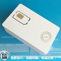 4G LTE空白可擦寫SIM手機卡支持Mini-SIM/Micro-SIM/Nano-SIM規格