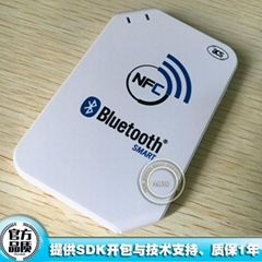 Wireless Bluetooth NFC Reader Writer 13.56MHZ #ACR1255U-J1 For Android &iOS