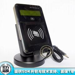ACR1222L高頻NFC讀卡器RFID讀寫器帶液晶顯示屏USB接口