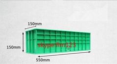 ABS plastic concrete cube test mould