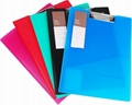 Office Supply Stationery Supply PP A4 Board File with Clip 1