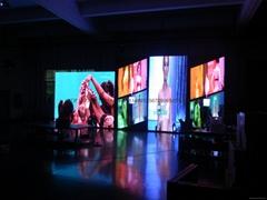 P4 indoor advertising led display video screen HD
