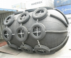 ship and dock floating pneumatic rubber fender