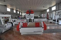 double cylinder rourer cnc engrave machine
