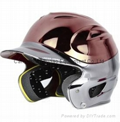 Under Armour OSFM Two-Tone Chrome Batting Helmet