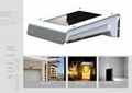 Solar motion sensor led light  with