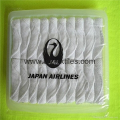 Disposable Hot Towels In Flight
