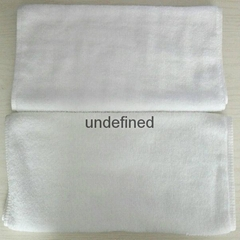 White Hotel Face Towel