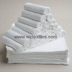 White Cotton Terry Towel